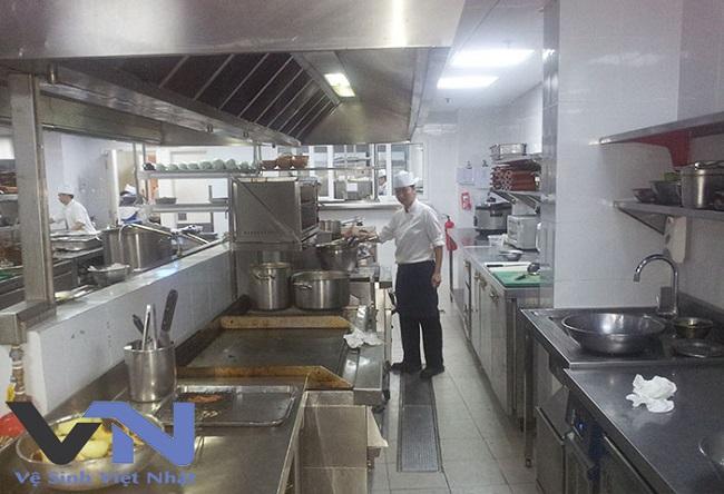 dịch vụ vệ sinh bếp nhà hàng tại tphcm