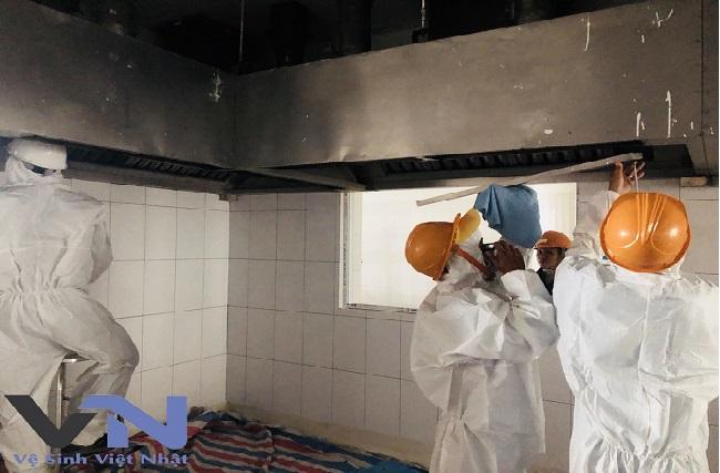 dịch vụ vệ sinh hệ thống hút mùi tại tphcm