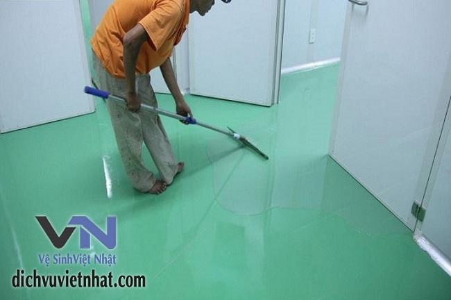 dịch vụ thi công sơn epoxy chuyên nghiệp tại tphcm