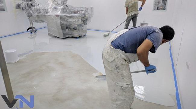 dịch vụ thi công sơn epoxy tốt nhất tphcm