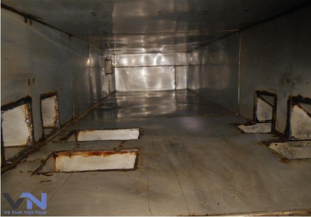 vệ sinh đường ống nhà bếp