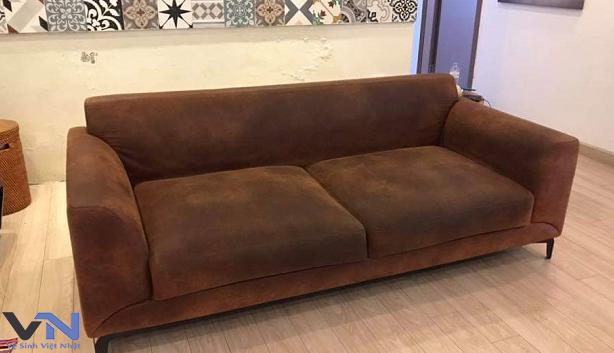 dịch vụ giặt ghế sofa nỉ giá rẻ