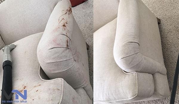 Dịch vụ giặt ghế sofa vải tại nhà