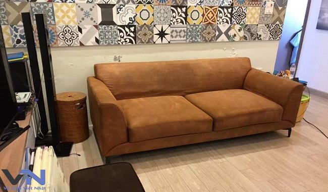 vệ sinh ghế sofa nỉ chuyên nghiệp