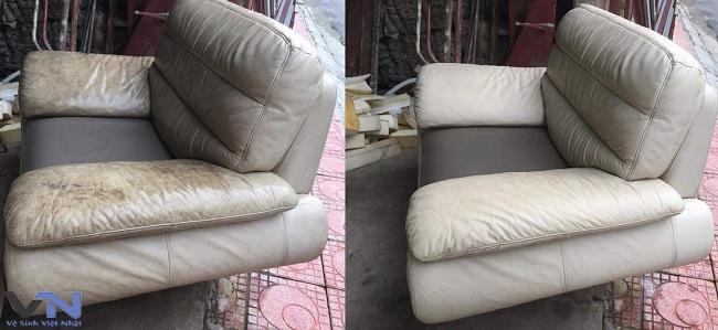 vệ sinh sofa da uy tín