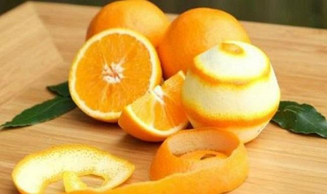 cách khử mùi sơn bằng vỏ cam chanh quýt