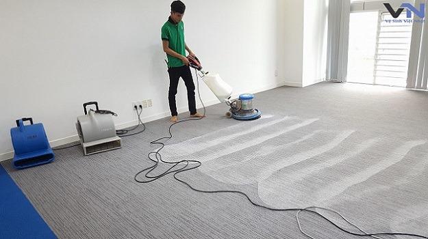 dịch vụ giặt thảm tại tiền giang
