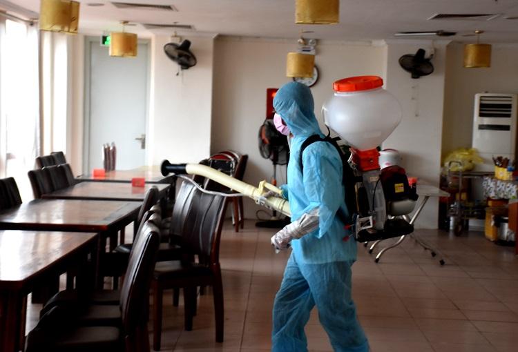dịch vụ phun phòng chống dịch corona tại nhà