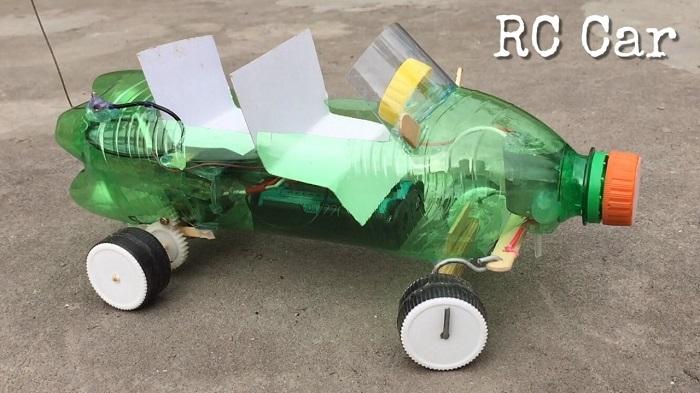 cách làm đồ chơi bằng vỏ chai nhựa