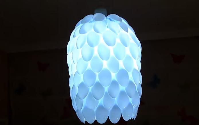 cách làm lồng đèn bằng chai nhựa