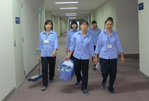 cung cấp nhân viên vệ sinh văn phòng