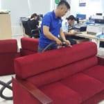 Dịch vụ giặt ghế sofa tại nhà quận Đông Anh