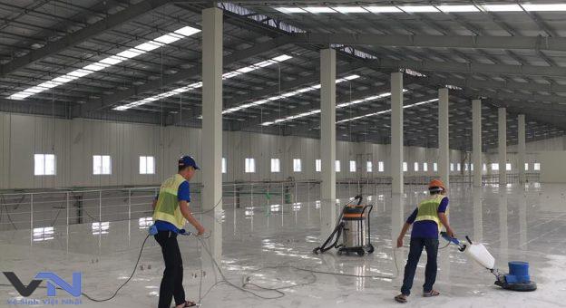 Dịch vụ vệ sinh công nghiệp tại quận 9 TPHCM