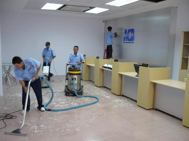 vệ sinh công nghiệp tại quận 1