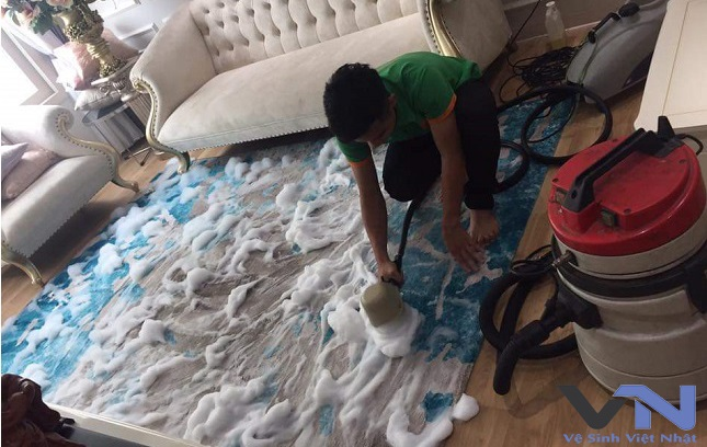 vệ sinh thảm trải sàn tphcm