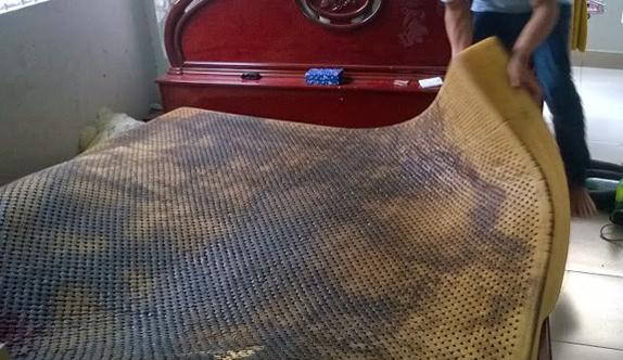 giặt đệm kymdan tại nhà tphcm